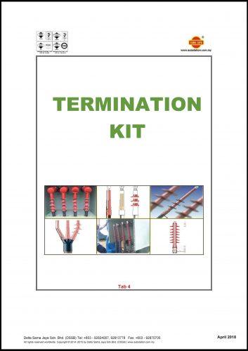 Tab 4 - Termination Kit Catalogue