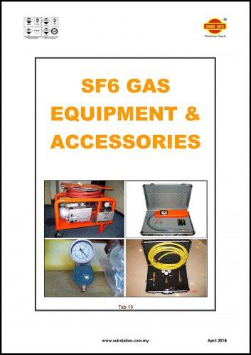 Tab 13 - SF6 Gas Equipment & Accessories Catalogue
